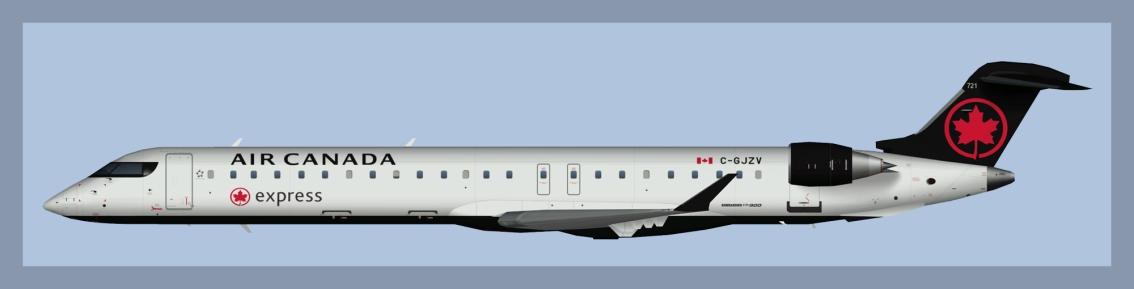 Air Canada Express Bombardier CRJ900 NC2017