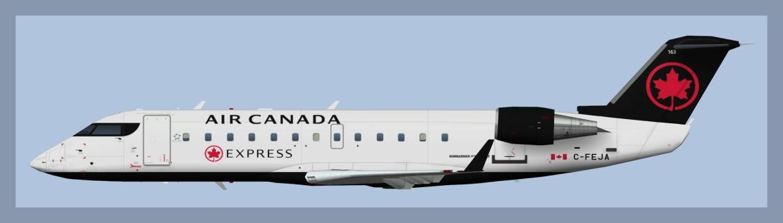 Air Canada Express Bombardier CRJ200 NC2017