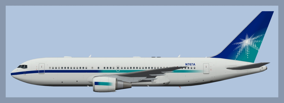 Saudi Aramco Boeing 767-200ERN767A