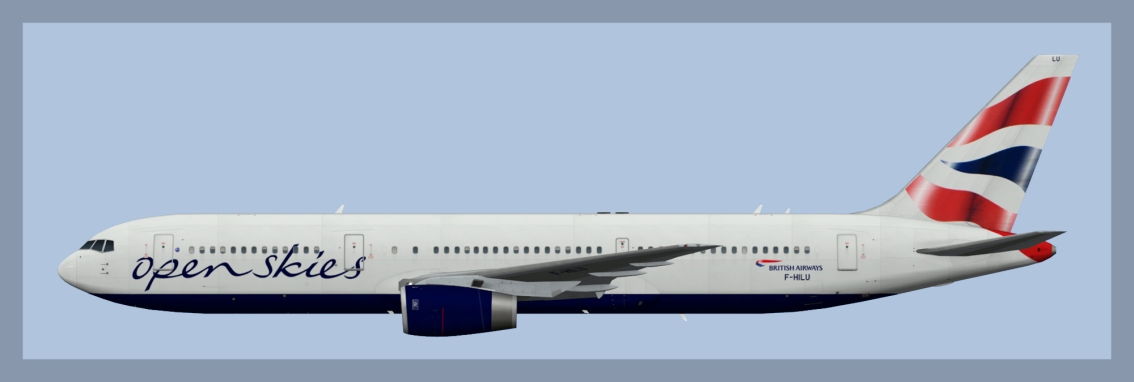 Openskies Boeing 767-300ER