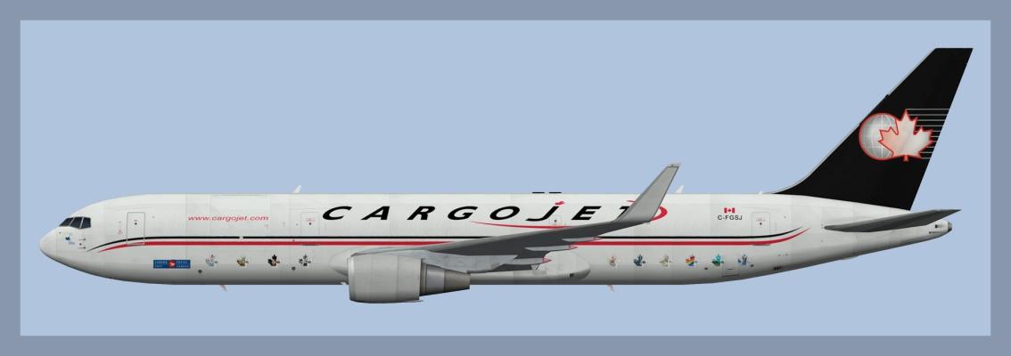 Cargojet Boeing 767-300ERF