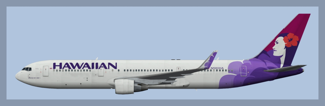 Hawaiian Airlines Boeing 767-300/300ER