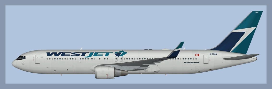 Westjet Boeing 767-300ER