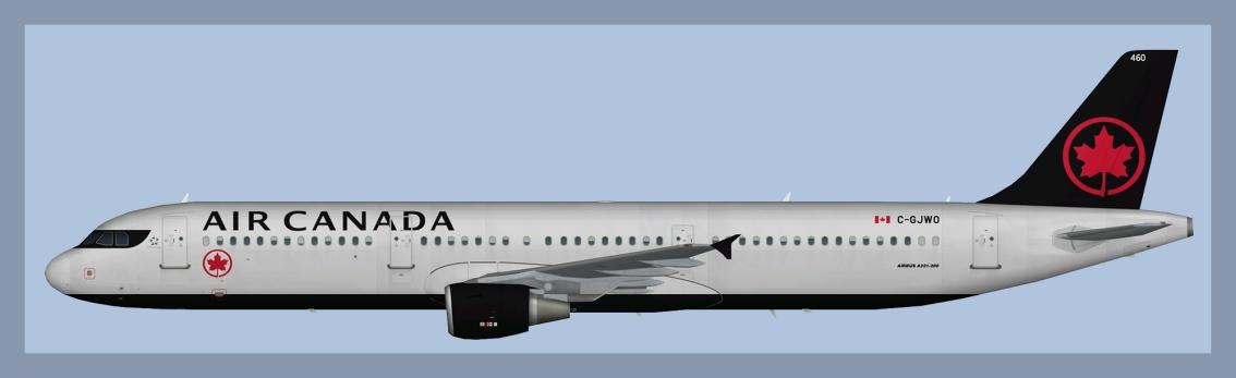 Air Canada Airbus A321 NC2017