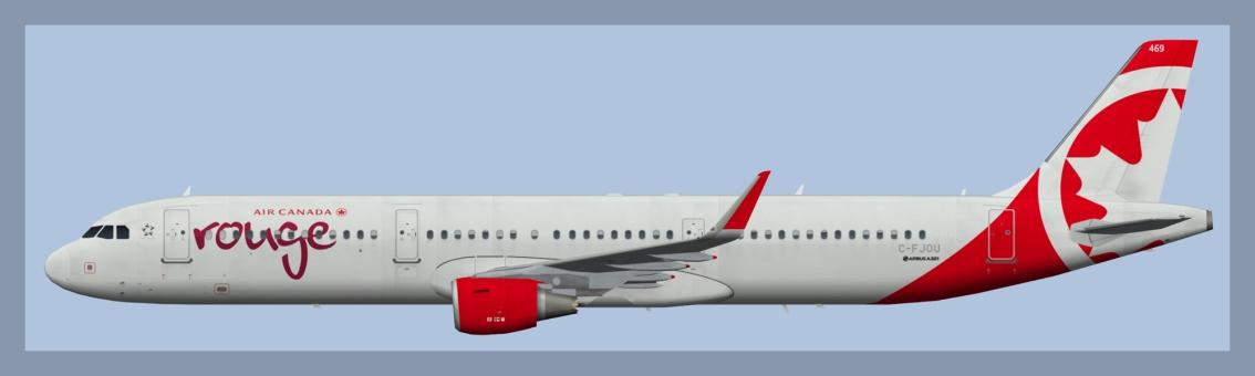 Air Canada Rouge AirbusA321