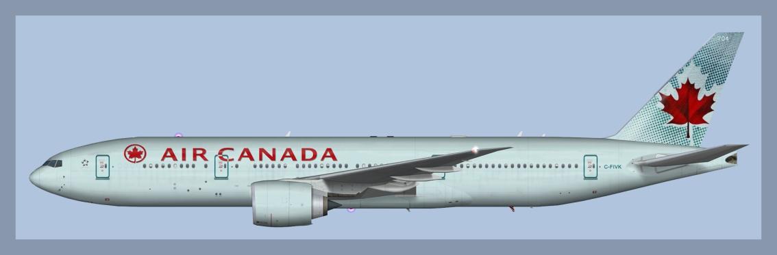 Air Canada Boeing777-200LR