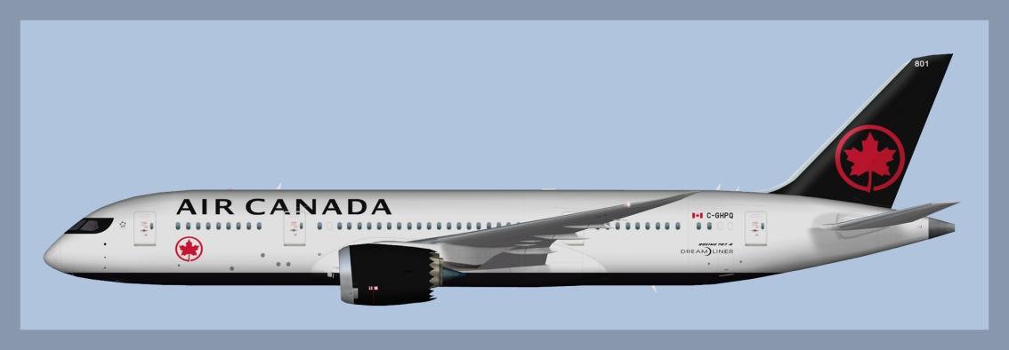 Air Canada Boeing 787-8 NC2017