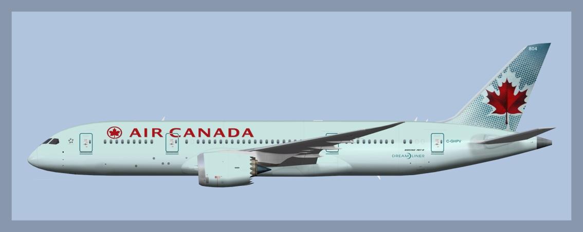 Air Canada Boeing787-8