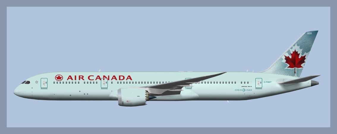 Air Canada Boeing787-9