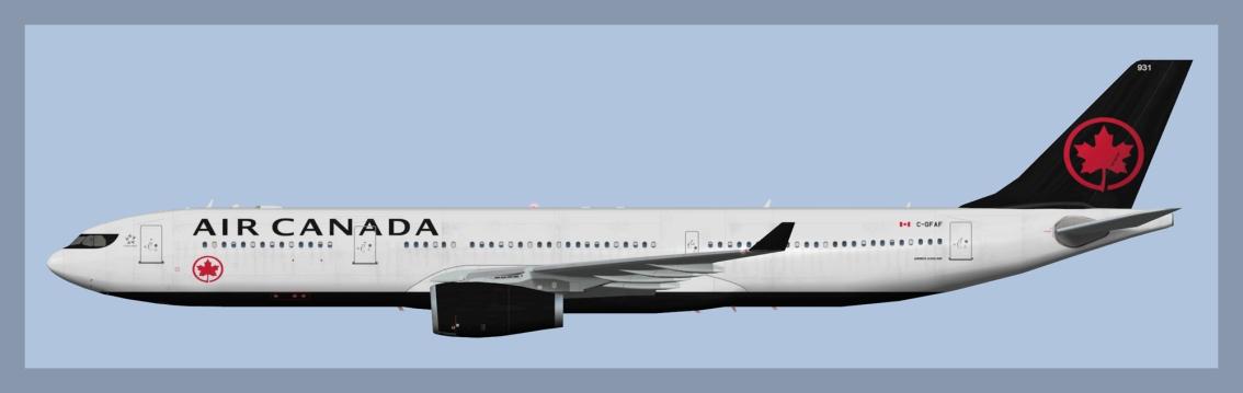 Air Canada Airbus A330-300 NC2017