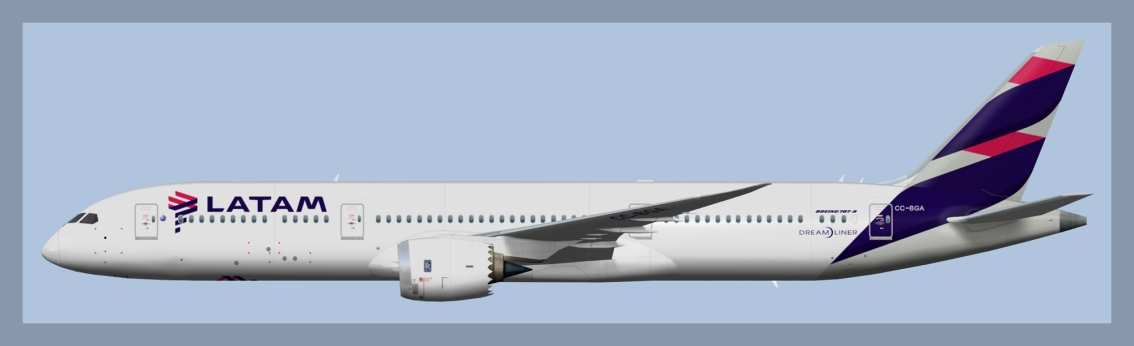 LATAM Airlines Chile Boeing787-8/9