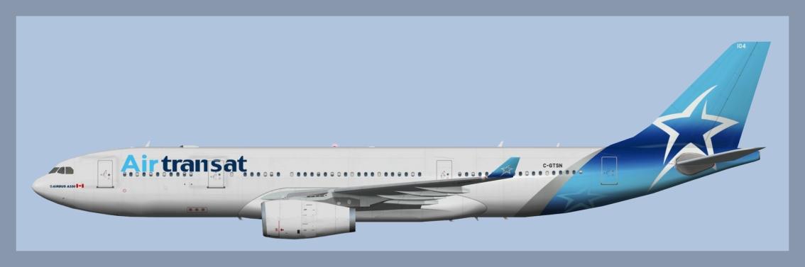 Air Transat Airbus A330-200NC