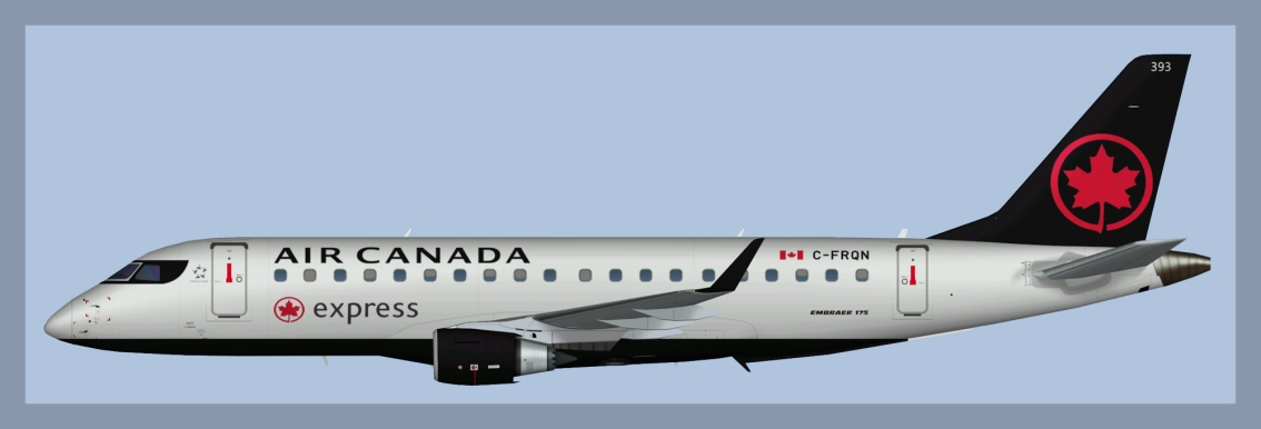 Air Canada Express Embraer E175 NC 2017