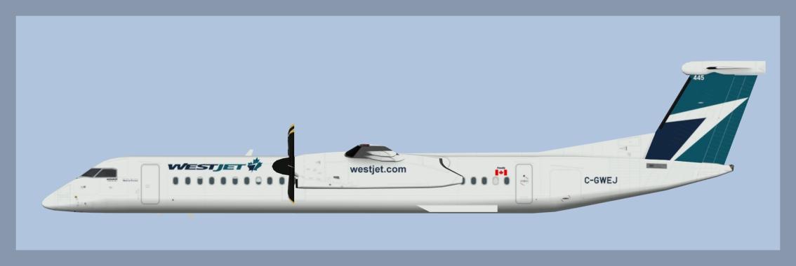 Westjet Encore Bombardier Dash8-Q400