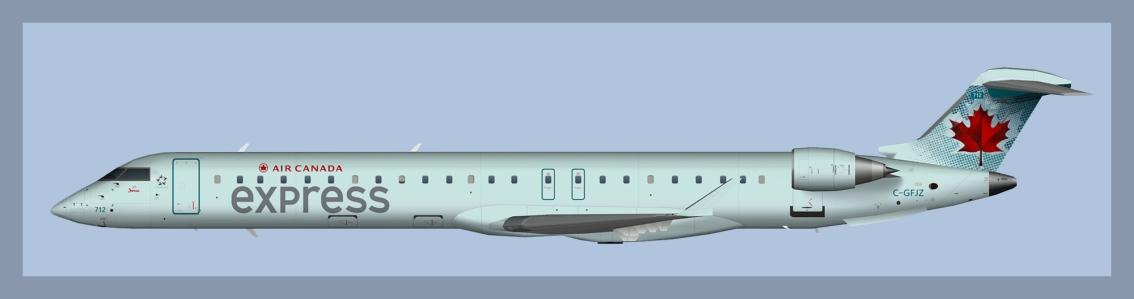 Air Canada Express Bombardier CRJ705OC