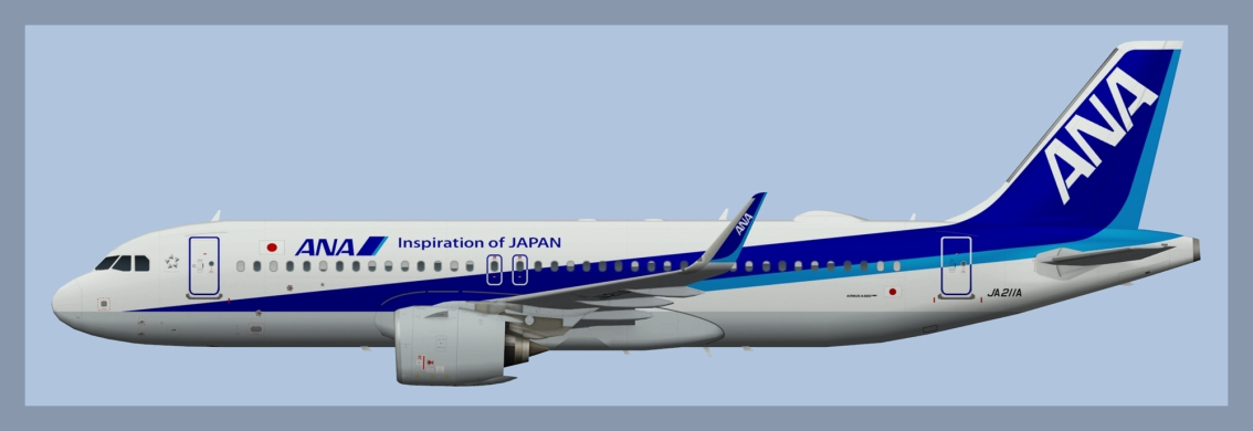 All Nippon Airbus A320NEO
