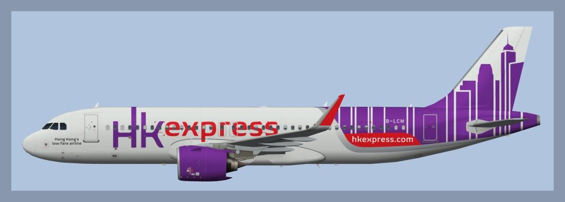 Hong Kong Express AirbusA320NEO