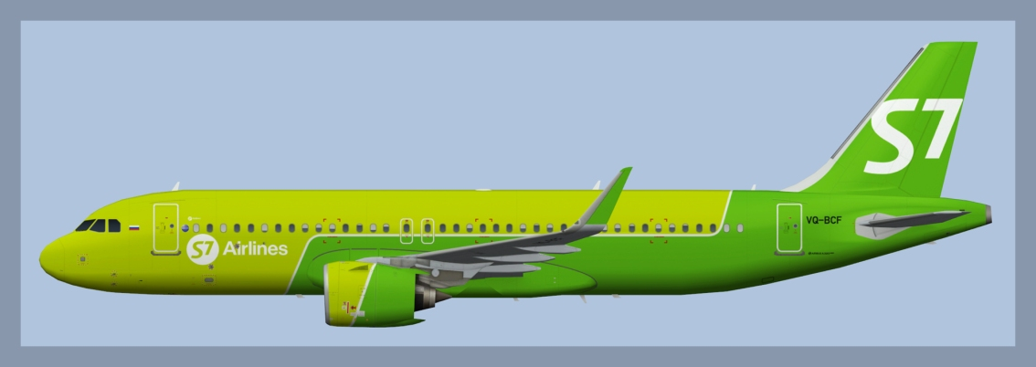 S7 Airlines AirbusA320NEO