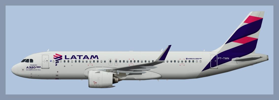 LATAM Brasil AirbusA320NEO