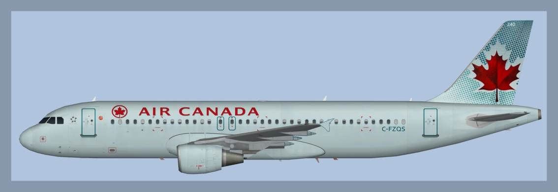 Air Canada Airbus A320 Fleet