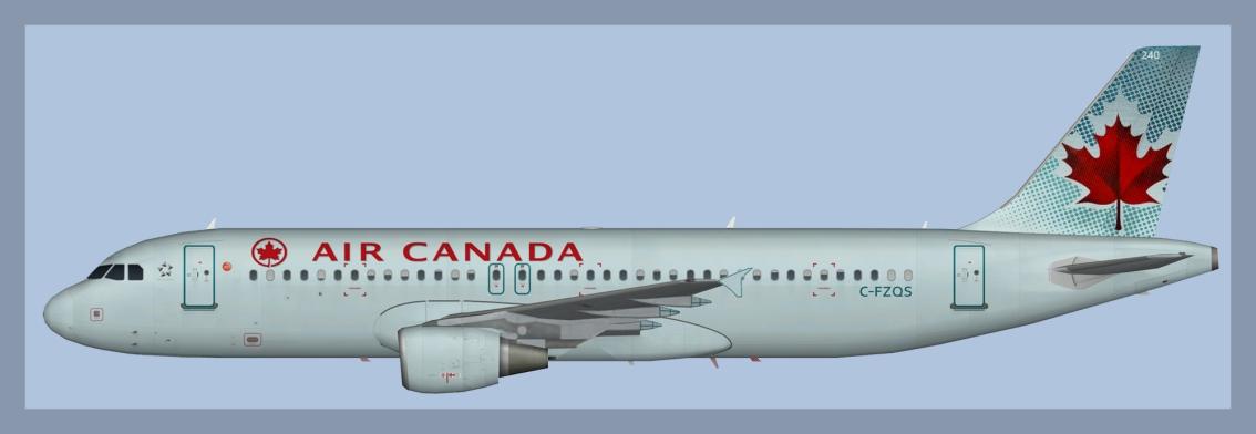 Air Canada Airbus A320Fleet