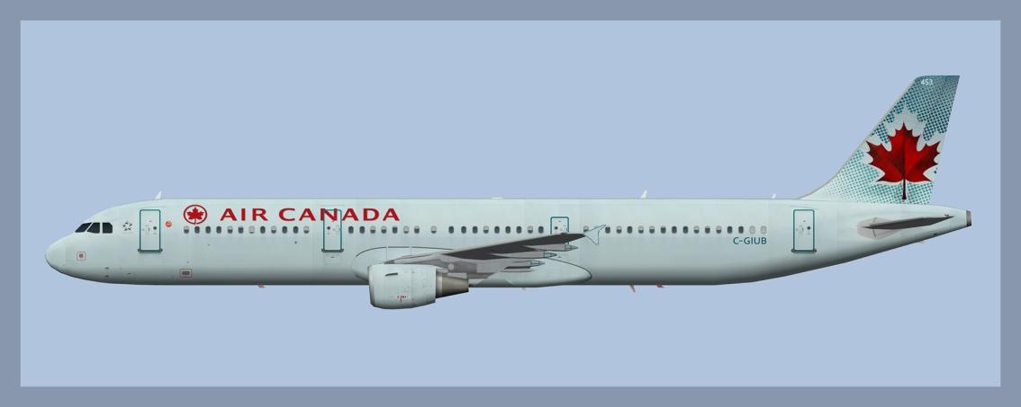 Air Canada Airbus A321OC