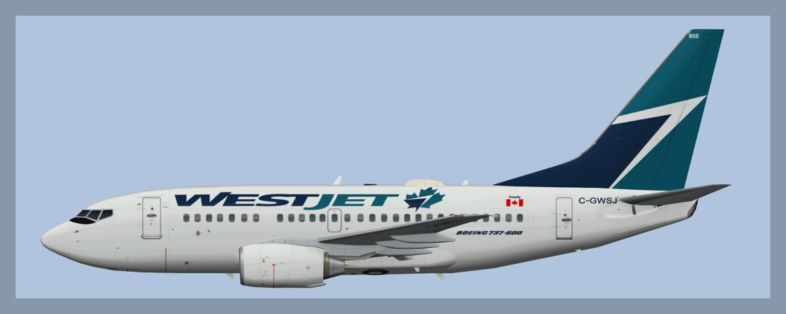 Westjet Boeing 737-600
