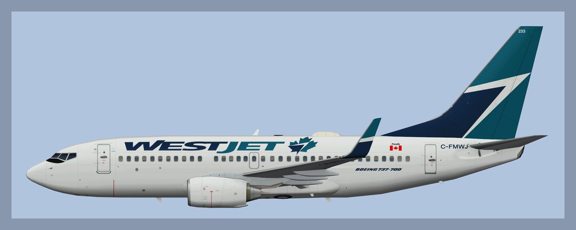 Westjet Boeing 737-700  sc 1 st  ATCO Repaints & Westjet Boeing 737-700 \u2013 ATCO Repaints