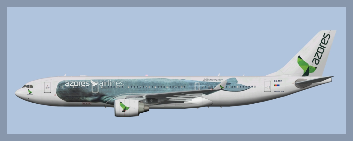 Azores Airlines Airbus A330-200