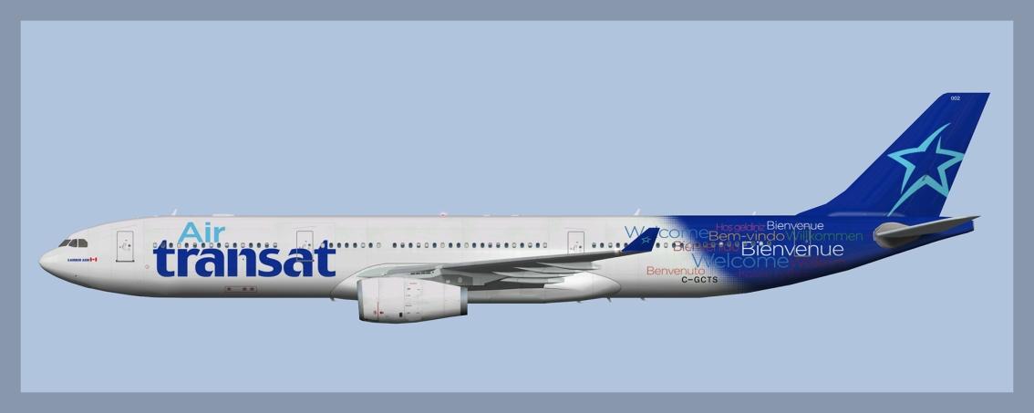 Air Transat Airbus A330-300OC