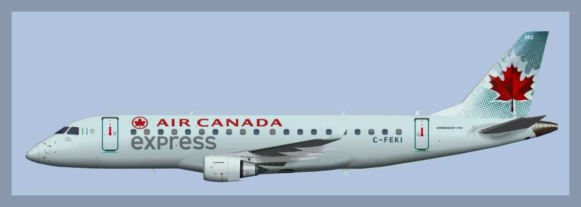 Air Canada Express Embraer E175 OC