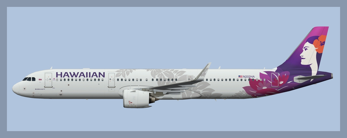 Hawaiian Airlines – ATCO Repaints