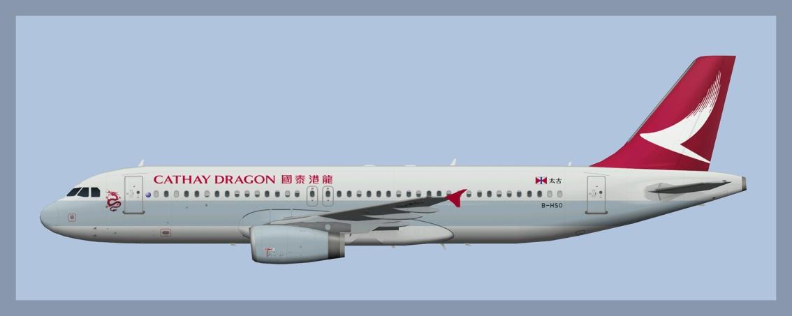 Cathay Dragon AirbusA320