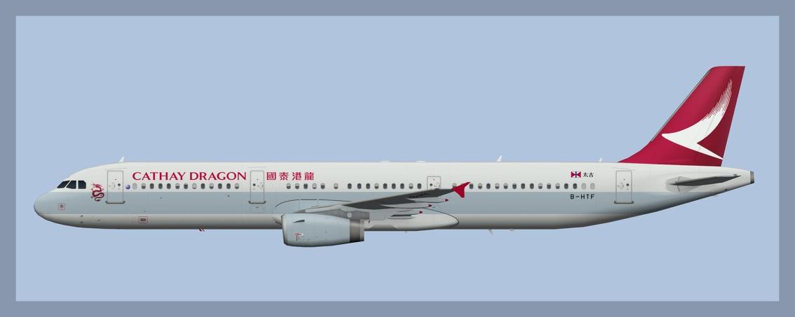 Cathay Dragon AirbusA321
