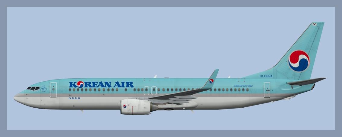 Korean Air Boeing 737-800Fleet
