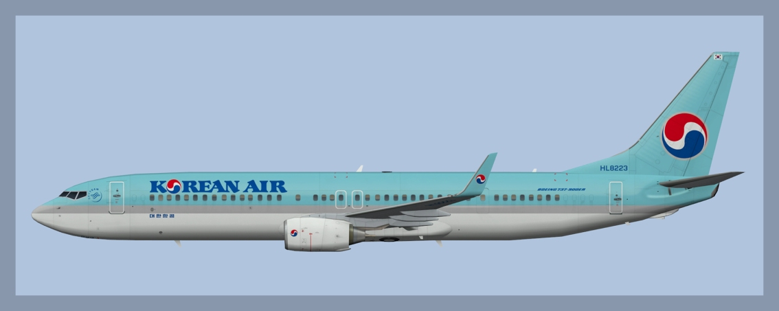 Korean Air Boeing 737-900 Fleet