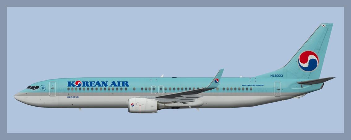 Korean Air Boeing 737-900Fleet