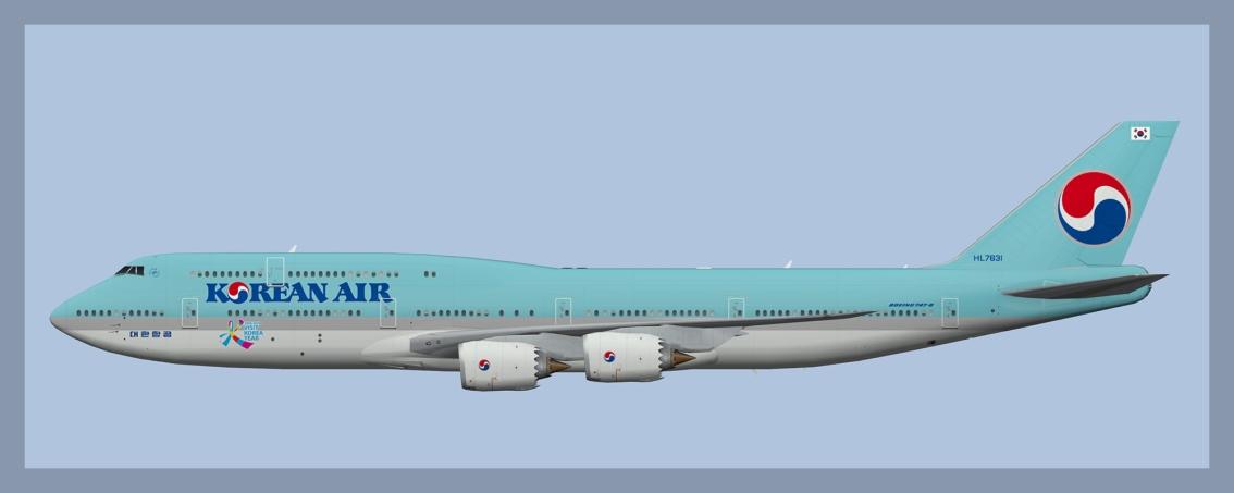 Korean Air Boeing 747-8Fleet