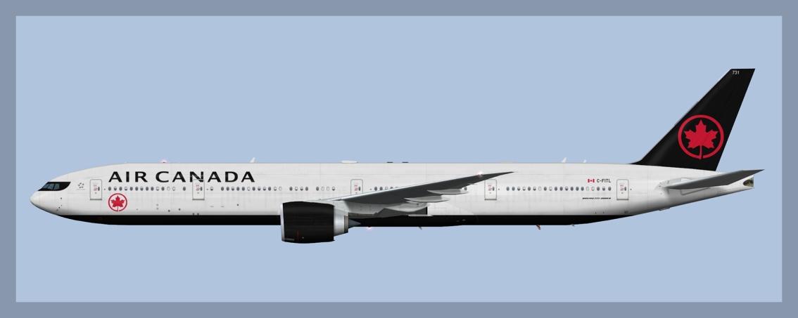 Air Canada Boeing 777-300ER NC 2017HD1