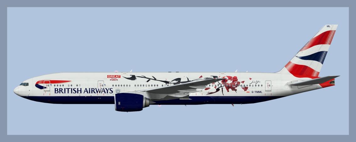 British Airways Boeing 777-200Fleet
