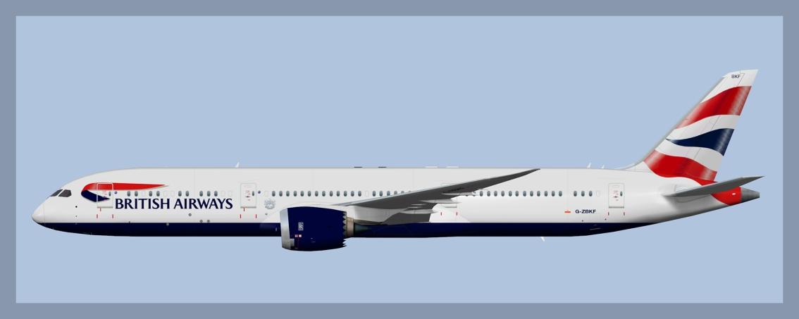 British Airways Boeing787-9