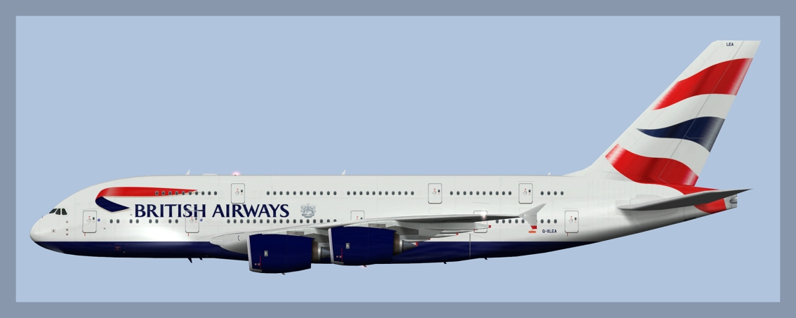 British Airways AirbusA380-800