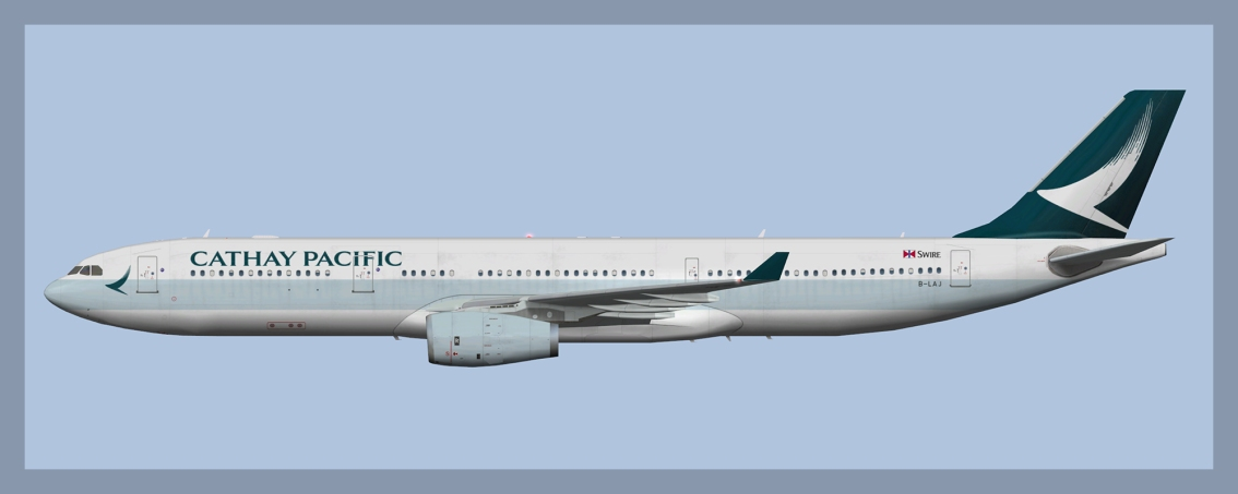 Cathay Pacific Airbus A330-300 Fleetpack