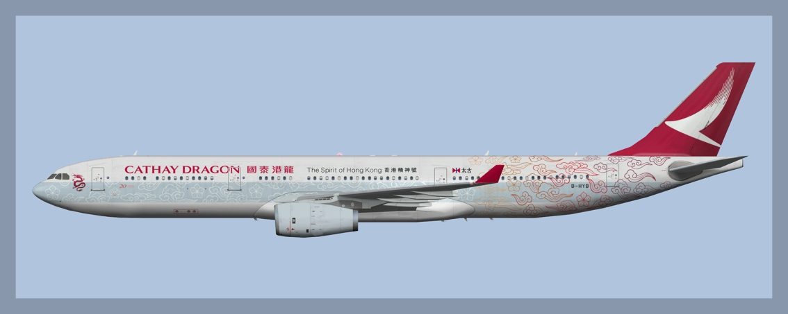 Cathay Dragon/Dragonair Airbus A330-300 Fleetpack