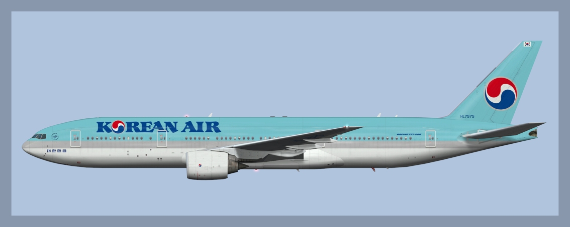 Korean Air Boeing777-200ER