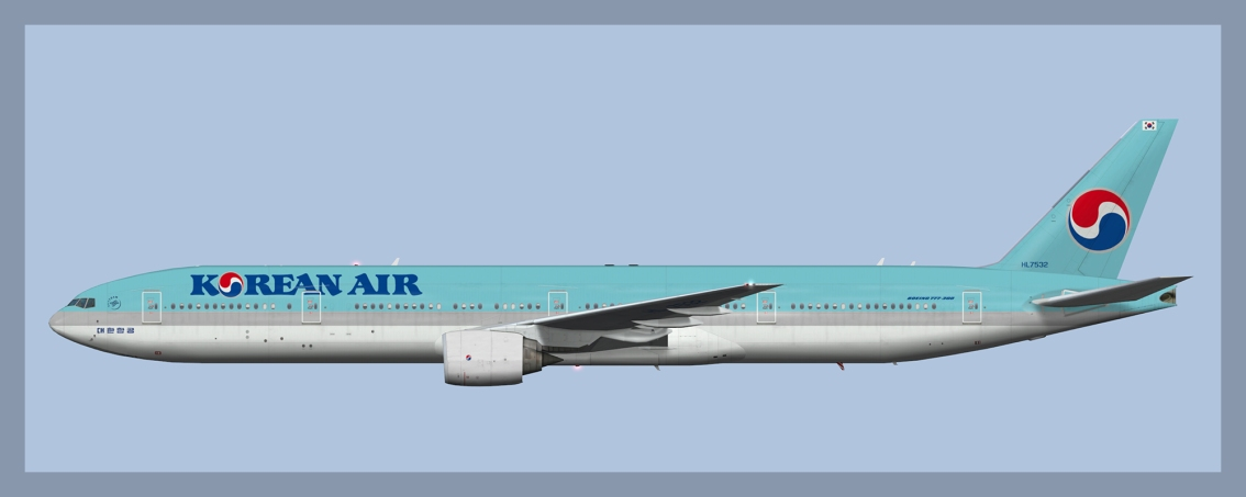 Korean Air Boeing 777-300