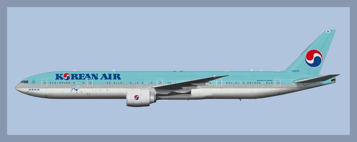 Korean Air Boeing 777-300ERFleet