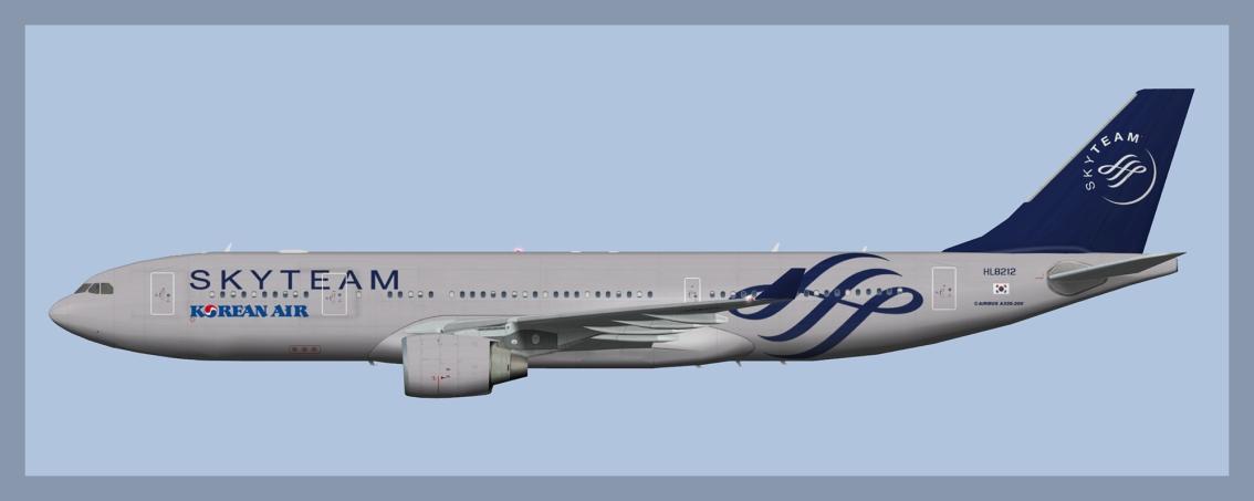 Korean Air Airbus A330-200Fleet