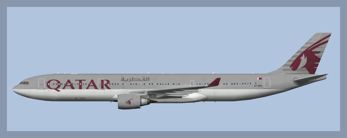 Qatar Airways Airbus A330-300 Fleet