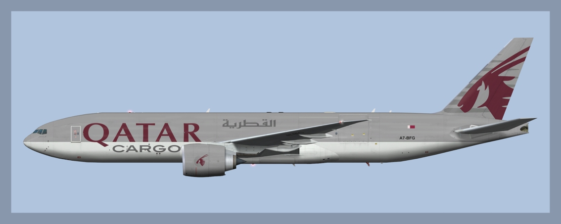 Qatar Airways Cargo Boeing 777-200LRF